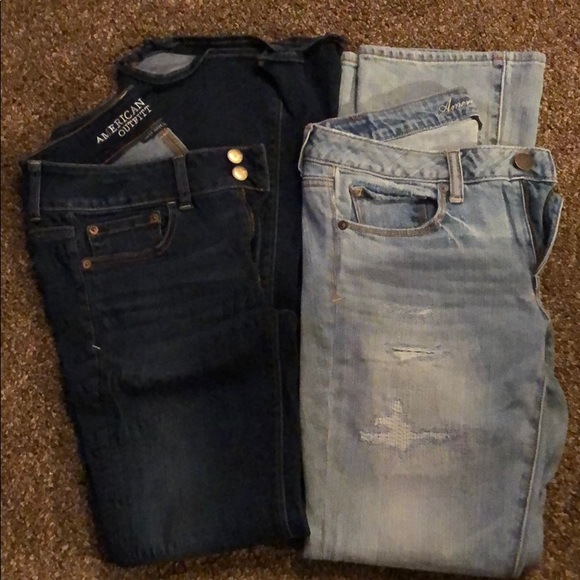 American Eagle Outfitters Denim - Lot of 2 American Eagle jeans women's size 6